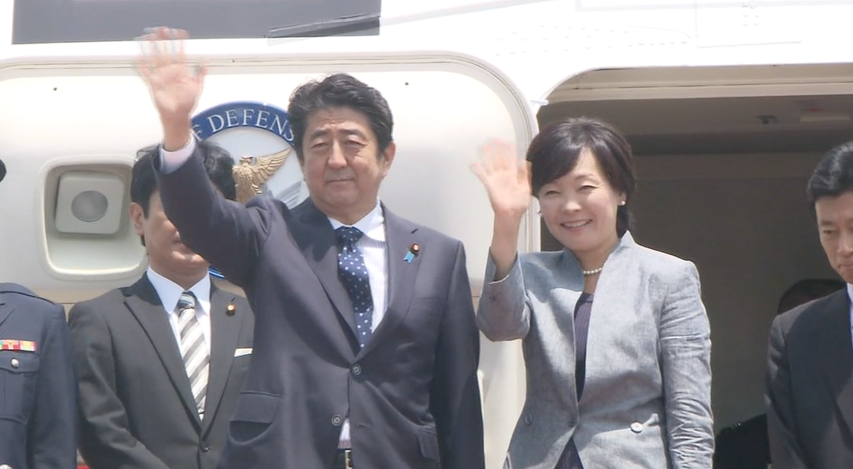 Abe sets off for Latin America