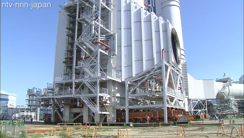 Tepco unveils giant thermal generator