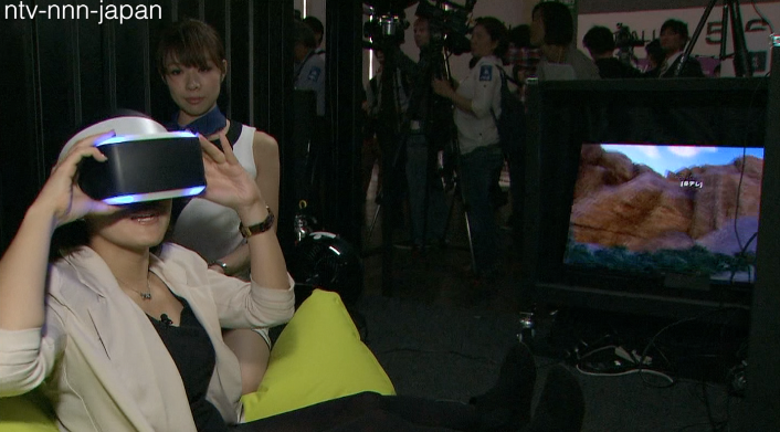 Virtual reality headsets wow at Tokyo Game Show