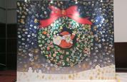 「南仏発祥の絵の具を使って『指で』描くアート~プロに教わるクリスマス・リース創作~」