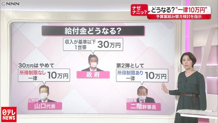 10 万 円 給付 第 二 弾