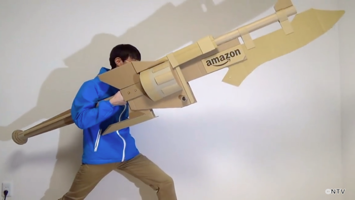 簡単 銃 ダンボール 工作 作り方