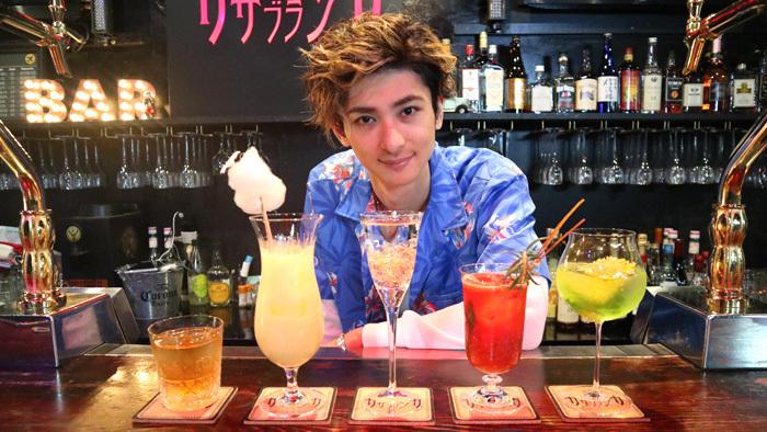 トップナイフ」古川雄大演じる来島のカクテル企画がスタート!第一弾は ...