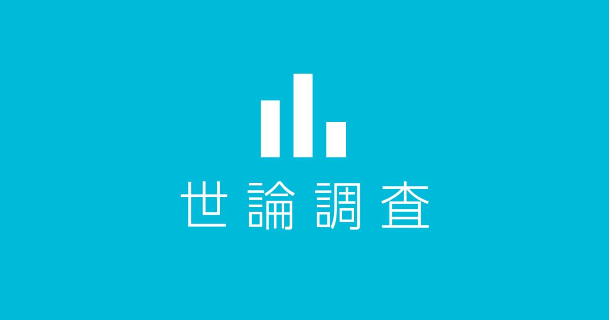 世論調査|日本テレビ